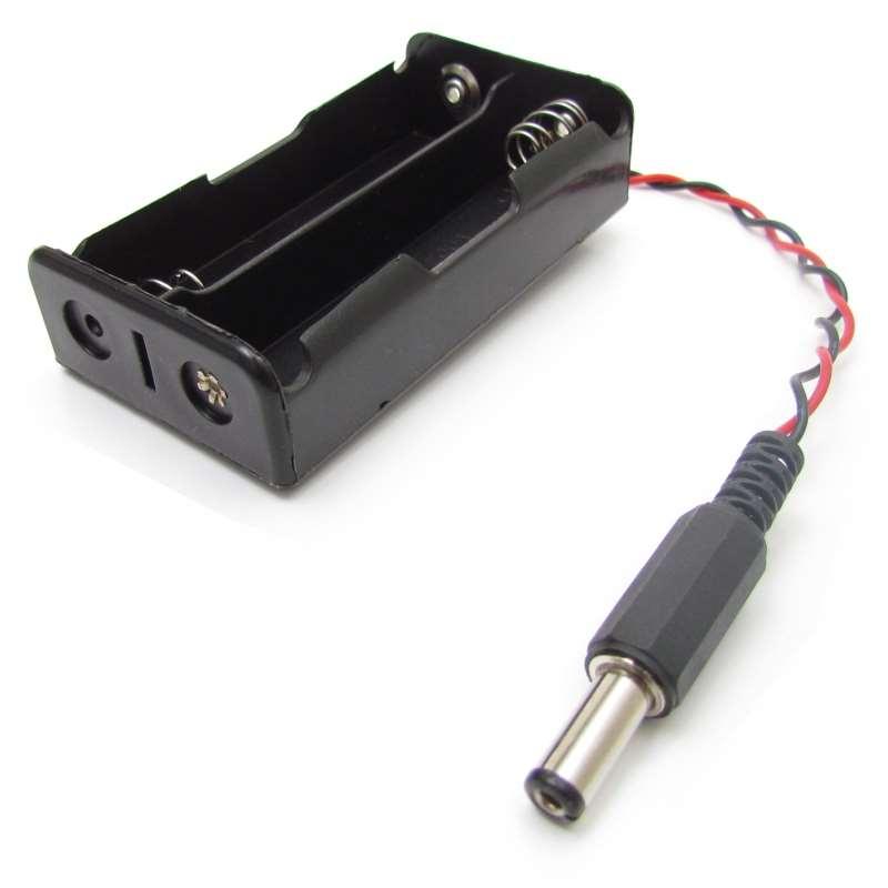 Suporte Bateria Mod 18650