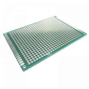 Protótipo Placa Universal Verde 6 X 8