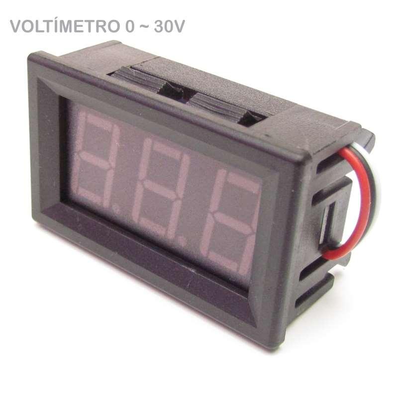 Voltímetro Digital 0v A 30v