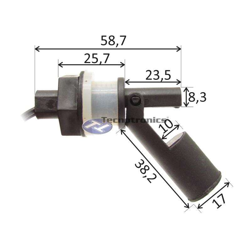 Sensor Nivel de Agua Lateral Magnético