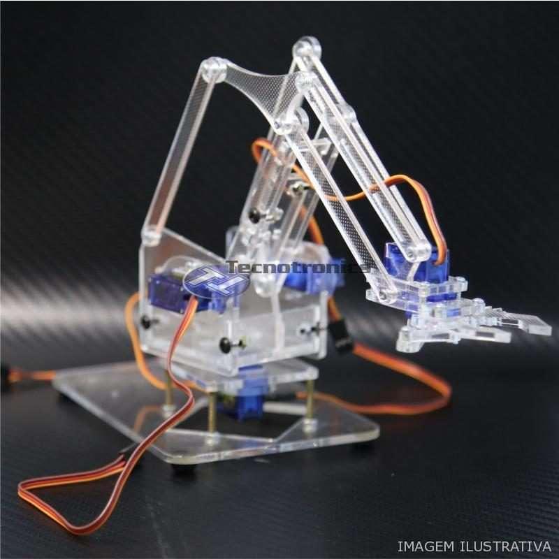 Braço Robótico com parafusos