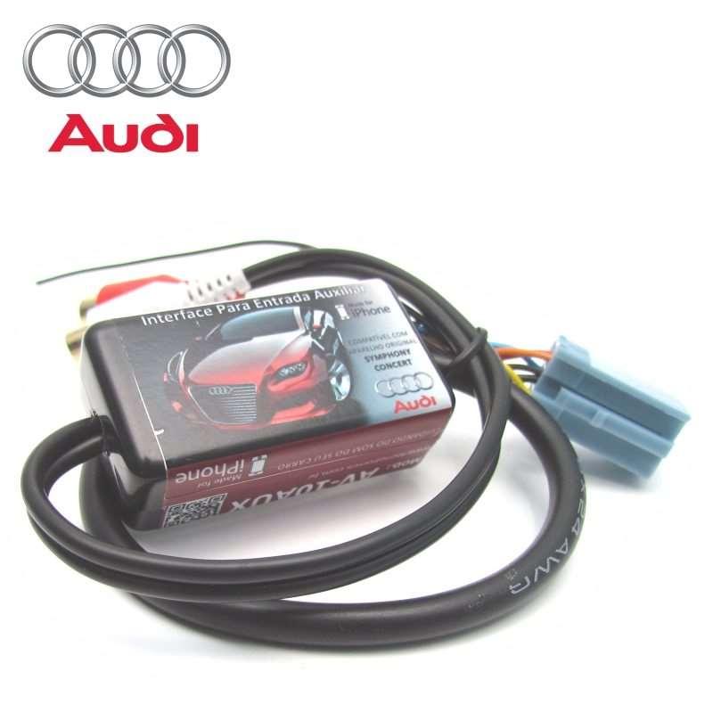 Cabo auxiliar AV-10AUX para CD Audi A3 A4