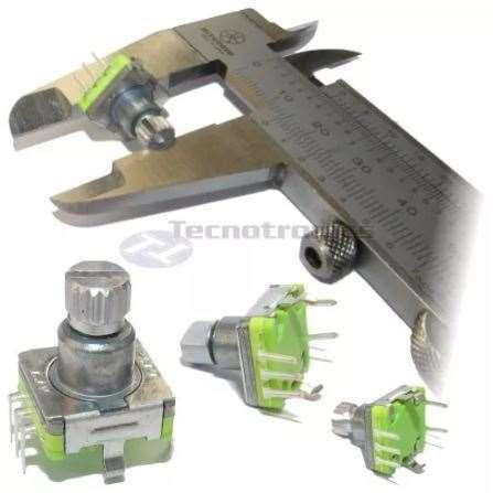 Potenciometro Encoder Com Chave