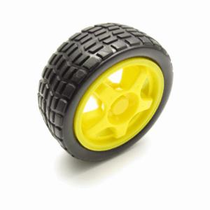 Roda + Pneu 65mm