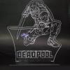 Dead pool Luminária