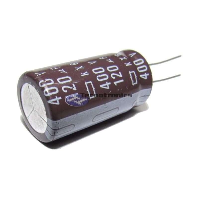 Capacitor Eletrolítico 120uF