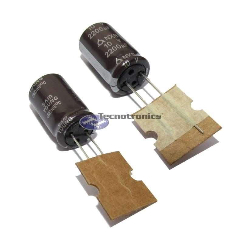 Capacitor Eletrolítico 2200uF 10V