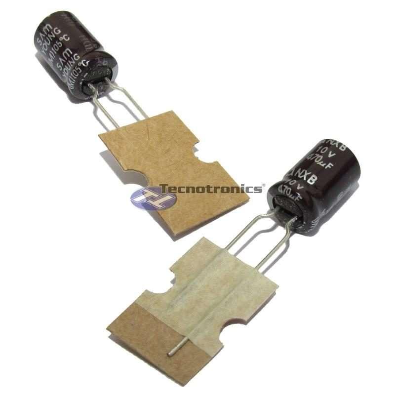 Capacitor Eletrolítico 470uF 10V