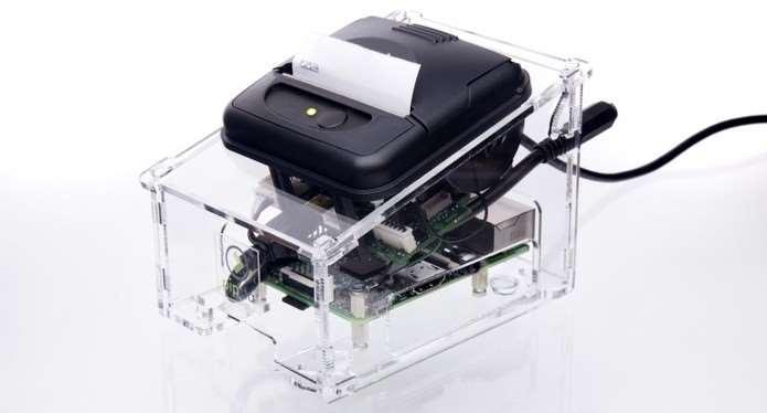 Impressora Feita com Raspberry Pi