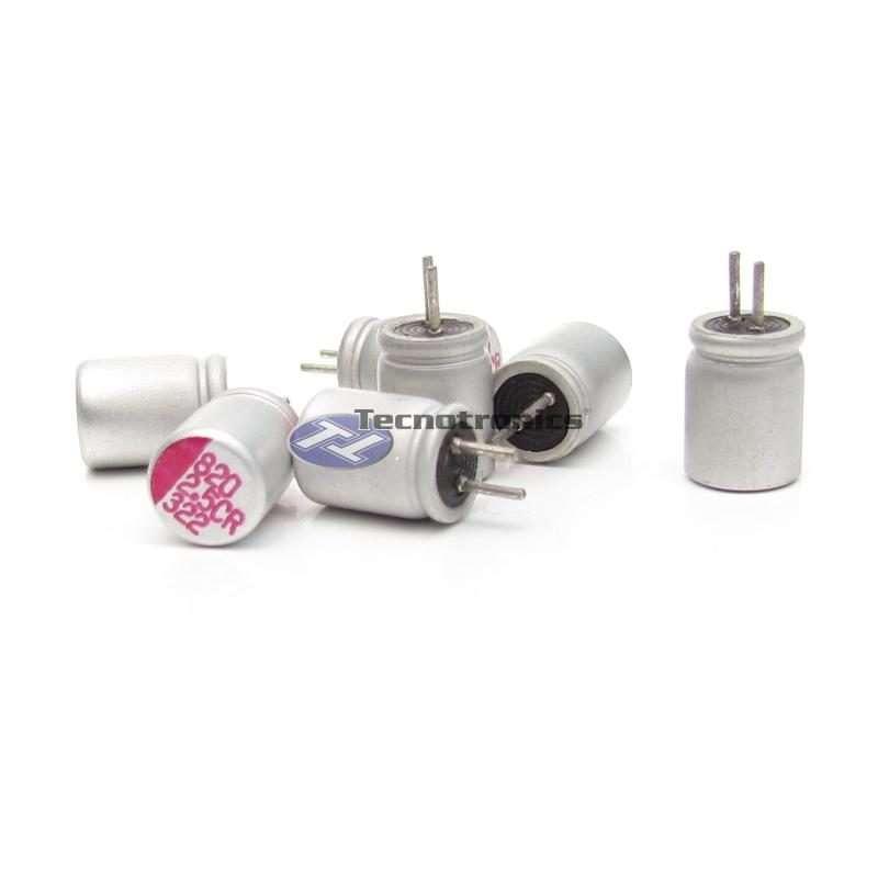 Capacitor Eletrolítico 820uf