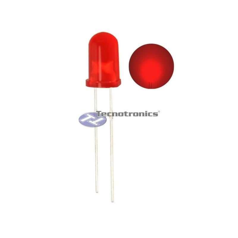 LED Vermelho Difuso