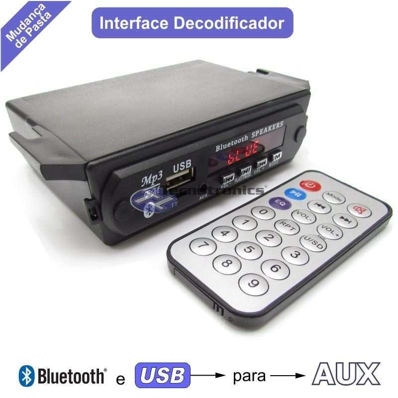 nterface de Áudio iT125BT