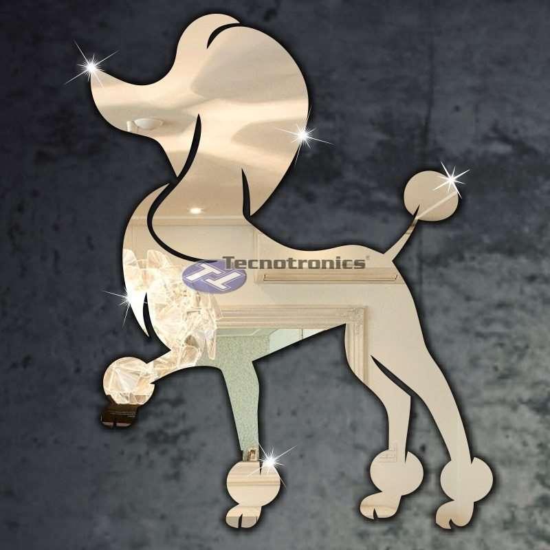 Espelhos Decorativos Cachorro Poodle