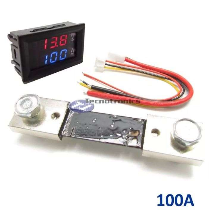Voltímetro Digital e Amperímetro