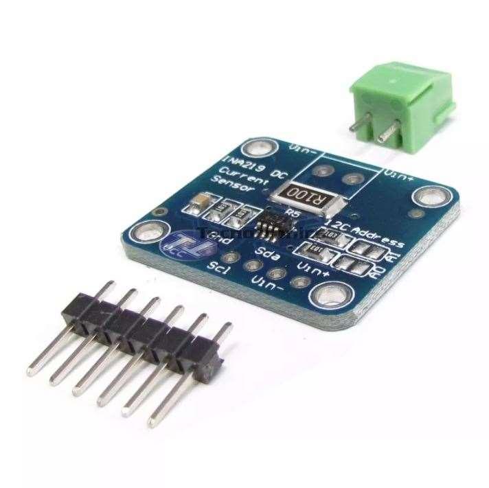 Sensor de corrente INA219