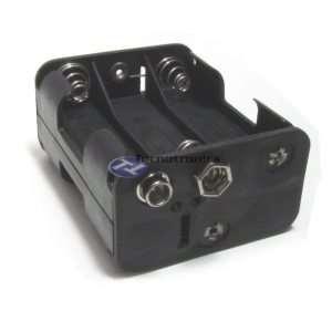 Suporte 6 Pilhas AA com Plug 9V