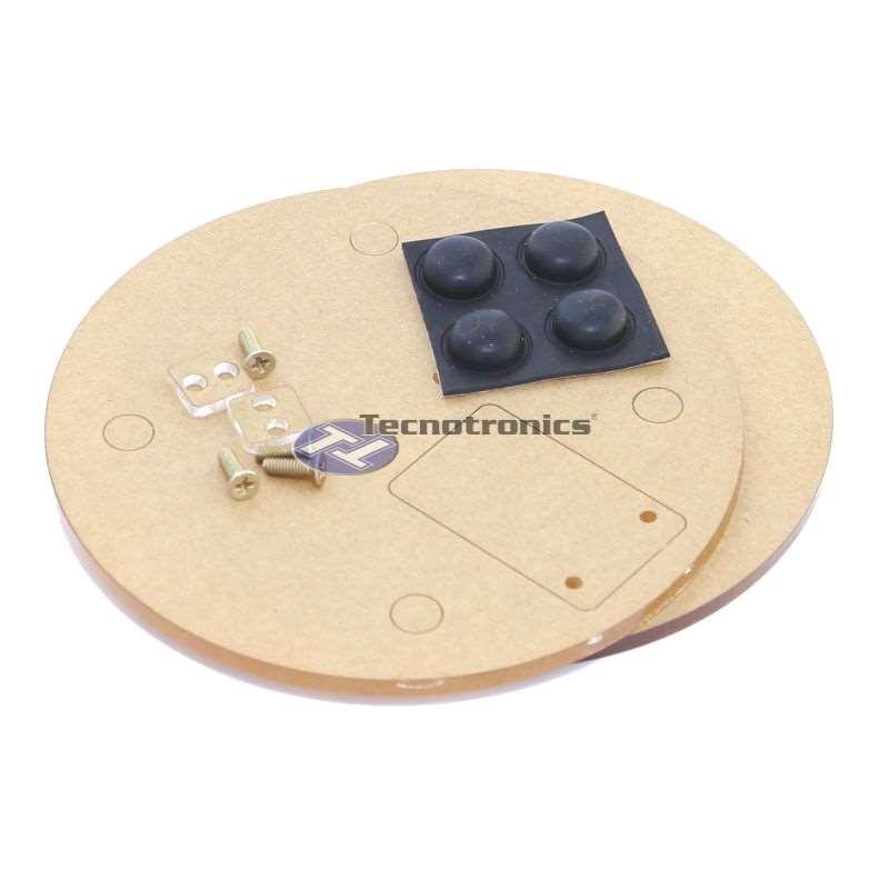 Base acrílica para célula de carga