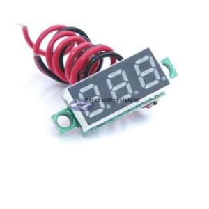 Mini Voltímetro Digital