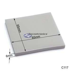 Dissipador Térmico de Silicone 65x65x6 mm