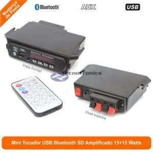 Interface de Áudio Amplificada 15 W + 15 W