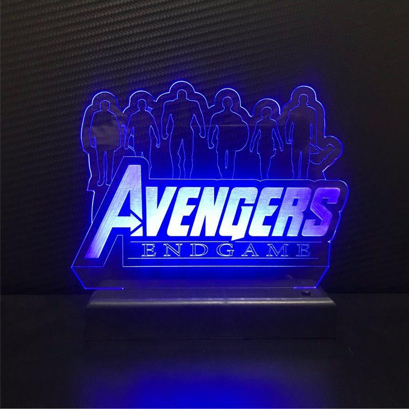 Abajur Avengers