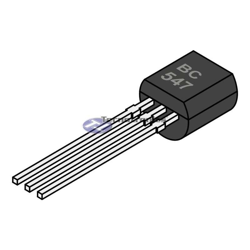 Transistor BC547 NPN Bipolar TO92