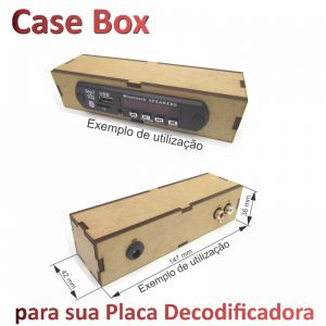 Case P/ Placa Decodificador
