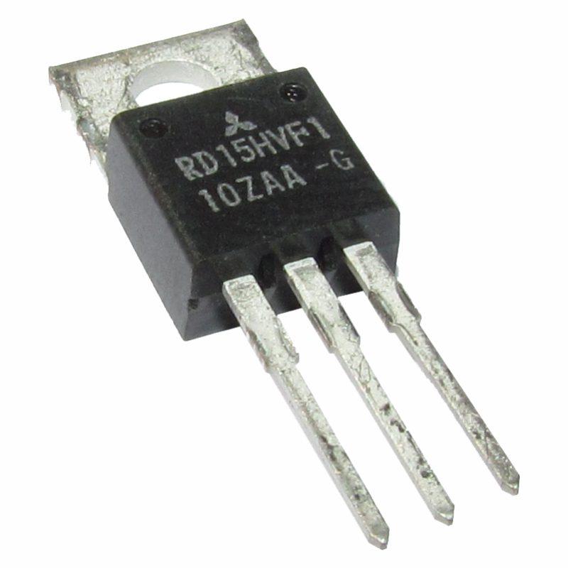 Transistor de FM de Potência RD15VHF1